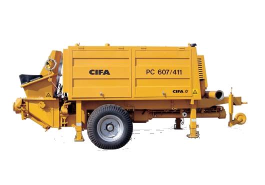 CIFA РС-607/411 D7